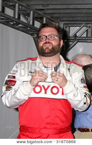 LOS ANGELES - APR 3:  Rutledge Wood at the 2012 Toyota Pro/Celeb Race Press Day at Toyota Long Beach Grand Prix Track on April 3, 2012 in Long Beach, CA