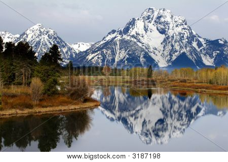 The View From Oxbow Bend