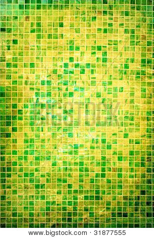 Colorful abstract mosaic wall background