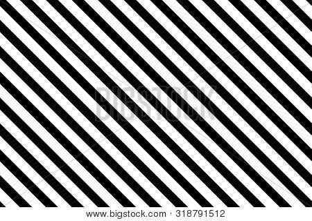 Thick Right Diagonal Lines. Stripe Texture Background. Seamless Vector Pattern