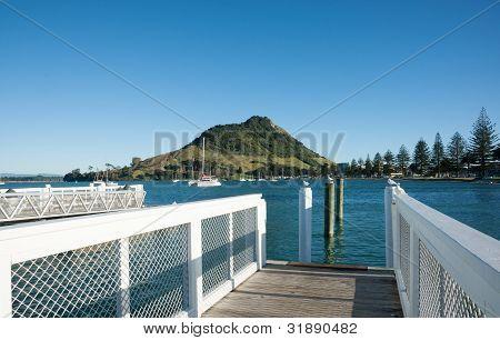 Pier at Pilot Bay.