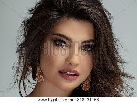 Glamour Portrait Of Beautiful Woman.