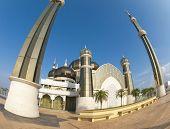 Crystal Mosque or Masjid Kristal in Kuala Terengganu, Terengganu, Malaysia, Asia. poster