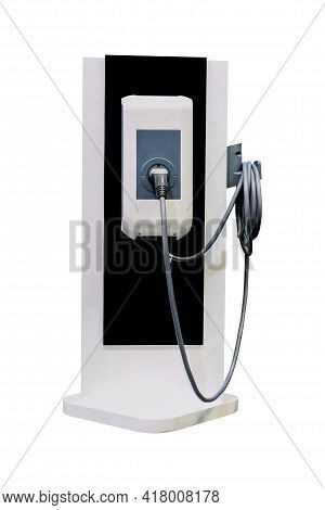 Electric Charger Machine For Electric Vehicles (ev), Technological Innovation For Smart Vehicles Tha