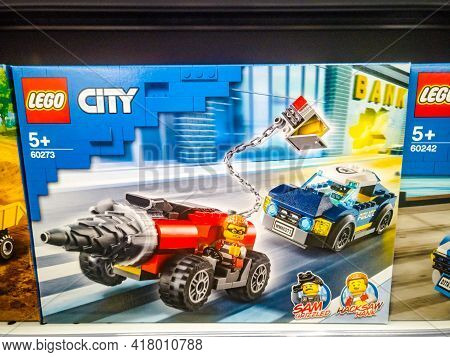 Constructor City 60273 Police Pursuit Of The Driller In The Hypermarket For Sale On 11.04. 2021 In R