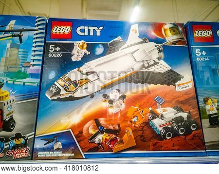 Lego City Space Port Mars Exploration Shuttle 60226 In The Hypermarket For Sale On 11.04. 2021 In Ru