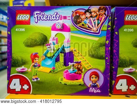 Construction Set Lego Friends Puppy Playground 41396 In The Hypermarket For Sale On 11.04. 2021 In R