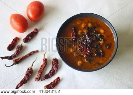Chana Masala Is A Dish Originating From The Indian Subcontinent. The Main Ingredient Is A Variety Of