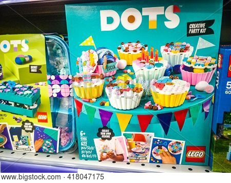 Lego Dots Creative Party Kit Diy Craft Decorations Kit 41926 On Sale In Hypermarket 11.04. 2021 In R