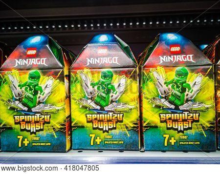 Lego Ninjago Spinjitzu-lloyd Flurry 70687 On Sale In The Hypermarket On 11.04. 2021 In Russia, Kazan