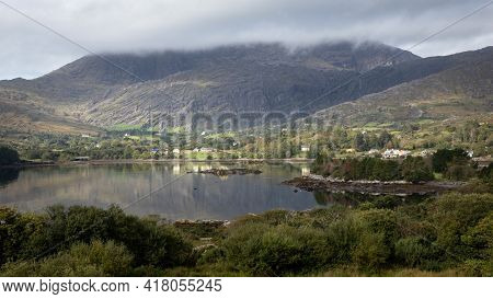 Light Coming Out Of Clouds Into Adrigole Harbour, County Cork