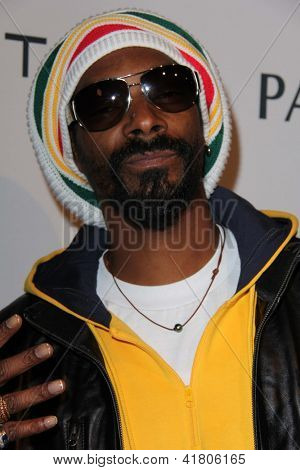 LOS ANGELES - FEB 4:  Snoop Dogg arrives at the Hollywood Reporter Celebrates the 85th Academy Awards Nominees event at the Spago on February 4, 2013 in Beverly Hills, CA