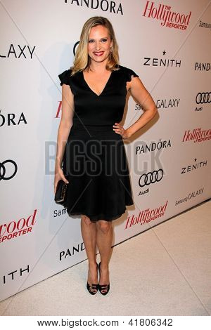 LOS ANGELES - FEB 4:  Vinessa Shaw arrives at the Hollywood Reporter Celebrates the 85th Academy Awards Nominees event at the Spago on February 4, 2013 in Beverly Hills, CA