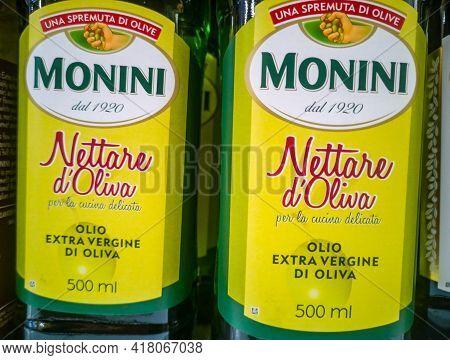 Monini Nettare D Oliva Extra Virgin Olive Oil Extra Virgin On Sale In The Hypermarket 11.04. 2021 In
