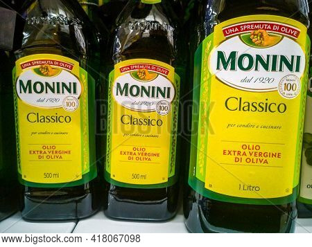 Monini Classico Extra Virgin Olive Oil Extra Virgin On Sale In The Hypermarket 11.04. 2021 In Russia