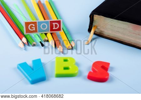 Church Background With Abbreviation