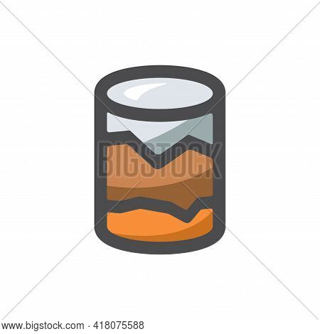 Geological Survey Earth Research Vector Icon Cartoon Illustration