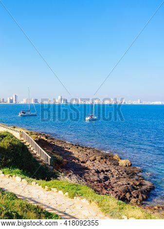 Tourist Site Cape Palos, Cartagen Murcia Region, Spain.