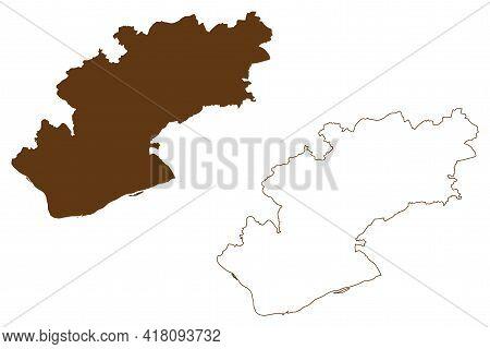 Rheingau-taunus District (federal Republic Of Germany, Rural District Darmstadt Region, State Of Hes