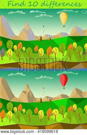 Spot The Differences, Find The Differences Game For Printing