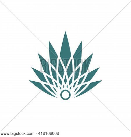 Illustration Vector Graphic Of Flat Agave Logo