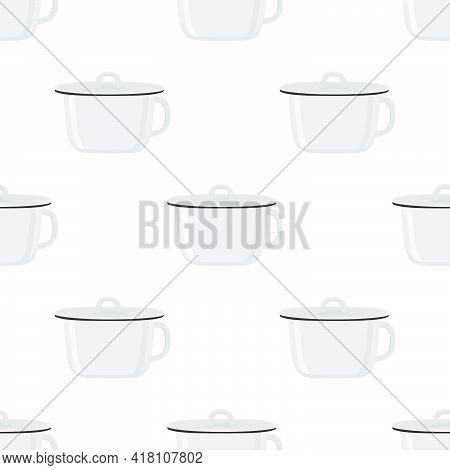 Abstract Seamless Plastic Baby Pots With Comfortable Handle
