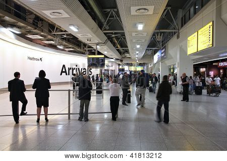 El aeropuerto de Heathrow de Londres