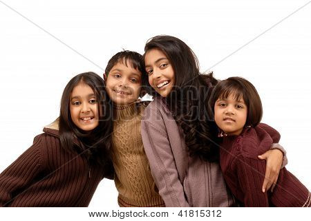 group of brother and sisters