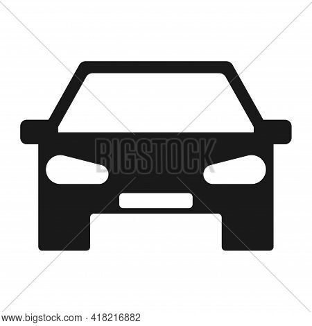 Car Graphic Design Isolated On White Background. Vector Illustration