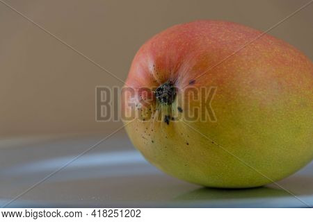 Fresh Pink Mango Fruit.