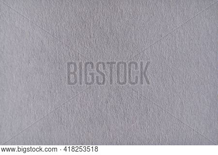 Grey Paper Background. Grain Rough Blank Sheet. Plain Stylish Backdrop. Craft Card Wallpaper. Modern