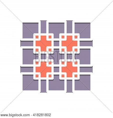 Color Illustration For Join Unite Link Add Connect Attach Concatenate