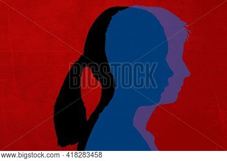 Gender Reassignment - A Difficult Life Decision.the Third Sex - Neither Male Nor Female. Let`s Toler