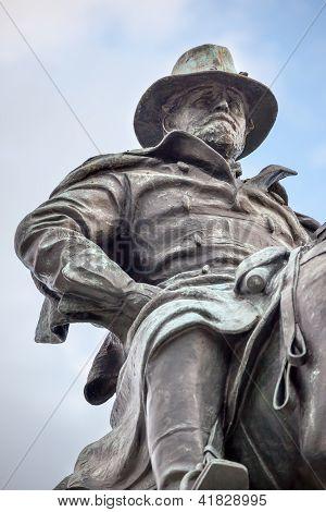 Us Grant Statue Civil War Memorial Capitol Hill Washington Dc