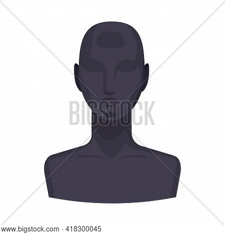 Vector Design Of Dummy And Face Sign. Web Element Of Dummy And Test Stock Vector Illustration.