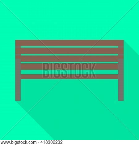 Vector Illustration Of Bench And Furniture Symbol. Web Element Of Bench And Seat Vector Icon For Sto