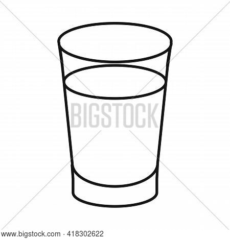Vector Illustration Of Juice And Sugar Symbol. Graphic Of Juice And Cane Stock Symbol For Web.
