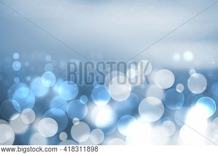 Abstract Ocean Background. Abstract Bright Blue Turquoise Tropical Ocean With Sparkling Waves And Li