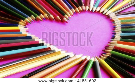 Heart Shaped Pencils