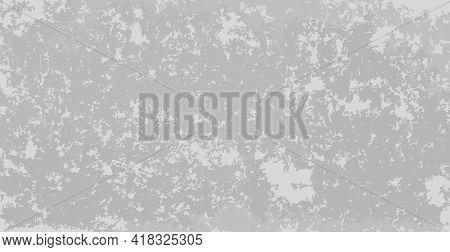 Realistic Background, Peeling Paint White - Gray - Vector Illustration