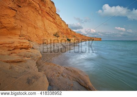 Beautiful nature seascape. Composition of nature.