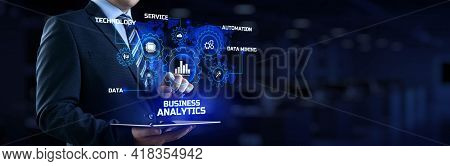 Business Analytics Bi Intelligence Big Data Analyze Concept
