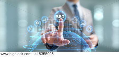 Seo Search Engine Optimisation Digital Internet Marketing Concept