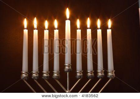 Hanukkah Menorah / Hanukkah Candles