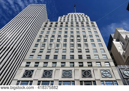 New York, Usa - July 2, 2013: 745 Fifth Avenue Building In New York. The Building Was Known As The S