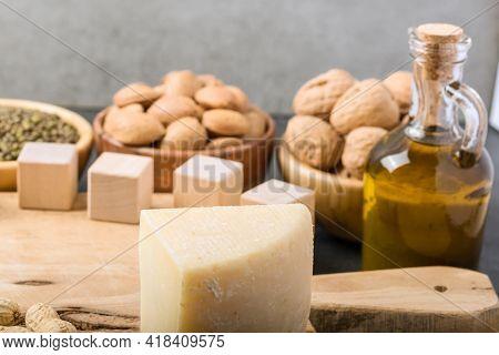 Different Foods Ingredients Rich In Vitamin D
