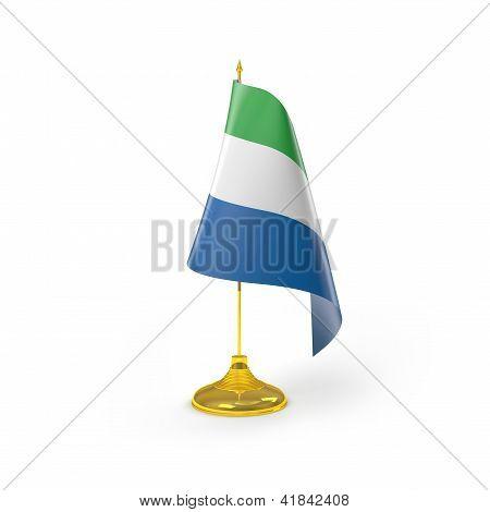 Flag Of Sierra Leone