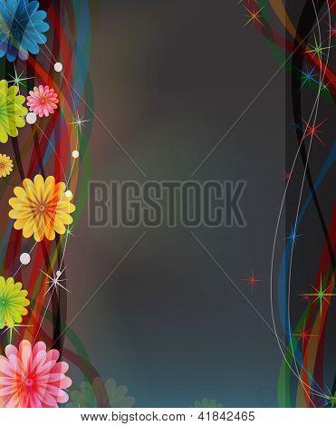 geheimnisvoll funkelnden Blumen