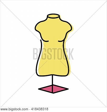 Sewing Mannequin. Needlework. Sewing And Repairing Clothes
