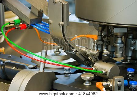 Production Of Medicines, Part Of A Machine